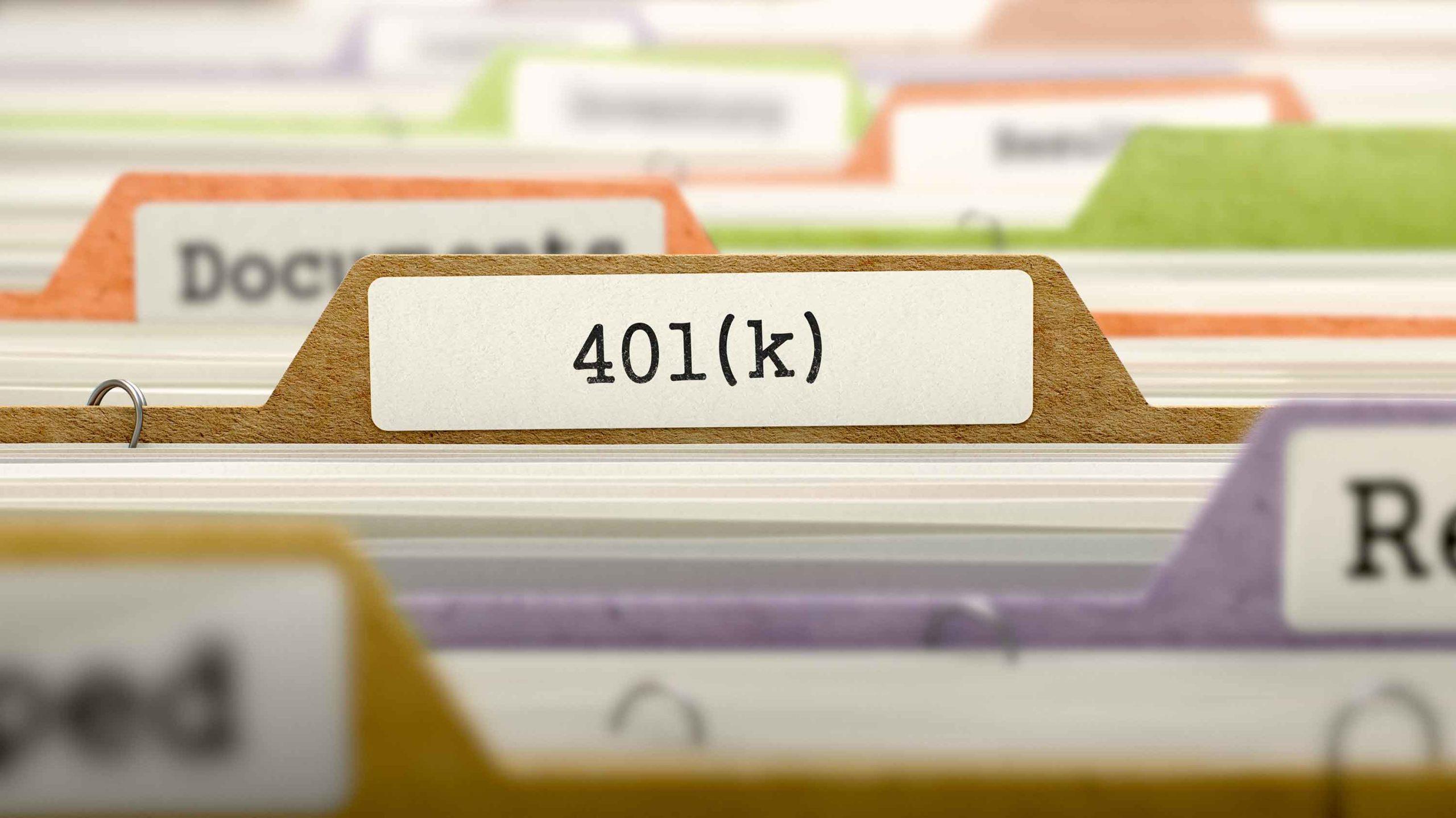 401(k) and SSDI